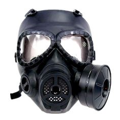 Airsoft party mask face Anti Fog Full Face Protection Gas Mask Style Turbo Fan System MO4 black TAN OD