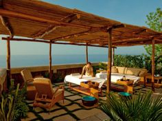 The Best New Spas in the World : Condé Nast Traveler - This would make for a nice vacation right about... NOW!