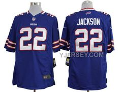 NIKE BILLS 22 JACKSON BLUE GAME JERSEYS NEW ARRIVAL, Only$36.00 , Free Shipping! http://www.yjersey.com/nike-bills-22-jackson-blue-game-jerseys-new-arrival.html