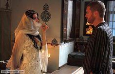 … Nurbanu Sultan, Sari, Turkish Fashion, Ottoman Empire, Formal Dresses, Wedding Dresses, Crown, Storyboard, Crosses
