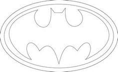 batman free printable logo for string art - yahoo Image Search Results