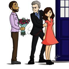 The Doctor and Clara Oswald // Doctor Who: She's Mine by Bella-Anima