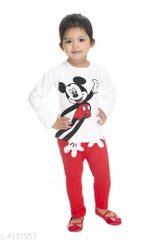 Clothing Sets Modern Classy Girls Top & Bottom Set Top Fabric:  Cotton  Bottom Fabric:   Cotton  Sleeve Length:  Full sleeve Top Pattern: Printed Bottom Pattern: Printed Multipack: Single Sizes:  Age Group (2 - 3 Years) - 20 in Age Group (3 - 4 Years) - 22 in Age Group (4 - 5 Years) - 24 in Country of Origin: India Sizes Available: 2-3 Years, 3-4 Years, 4-5 Years, 0-1 Years, 1-2 Years   Catalog Rating: ★4 (7117)  Catalog Name: Modern Classy Girls Top & Bottom Sets Vol 1 CatalogID_694894 C62-SC1147 Code: 802-4771907-534