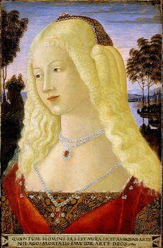 Neroccio de Landi (Italian artist, 1445-1500) Young Lady 1480s