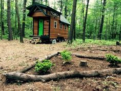 Tiny house w/ solar set up for sale - Tiny House Listings