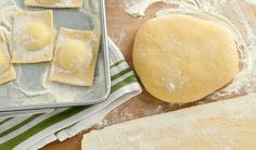 Pasta Dough, nothing beats the taste of fresh homemade pasta (it's not hard to make)