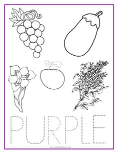 YELLOW Color Activity Sheet -Repinned by Totetude.com   School ...