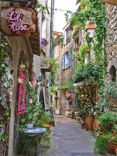 10 of The Most Luxurious Towns on the French Riviera- 10 of The Most Luxurious Towns on the French Riviera Mougins pedestrian street, South of France - Europe Train Travel, France Travel, Paris Travel, France Europe, Nice France, South Of France, The Places Youll Go, Places To Go, Belle France