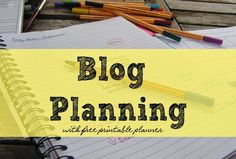 Thematic Planning Blog