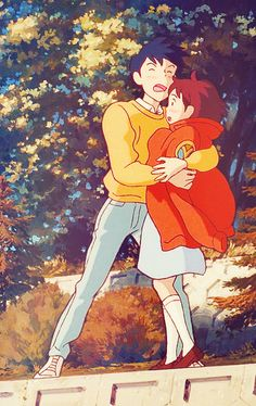 "Whisper of the Heart | Studio Ghibli (Yoshifumi Kondo) | "" I love you. Will you marry me?"""