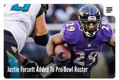Congrats Justin Forsett!!!!! - Pro Bowl 2014