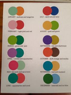 ERIN CONDREN MONTHLY COLOR SCHEMES