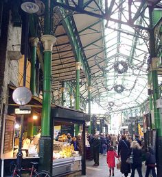 This is my favorite place in the entire world. Borough Market, London < I have to see that place. Damnit, with all the places I want to see I'd have to stay for at least half a year ;-)