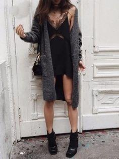 Vestido de Alcinha com Renda - Ref.1006