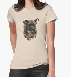 Boxer Tee's - Beautiful Boxer Dog is Flying through the Air - Boxer Lovers • Also buy this artwork on apparel, stickers, phone cases, and more.