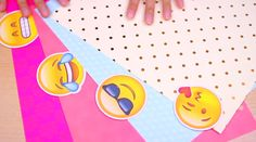 DIY Emoji Binder Dividers