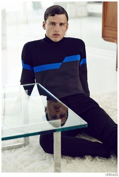 Simon Nessman is On the Road for Hercules Fashion Shoot image Simon Nessman Hercules Fashion Editorial 006