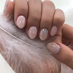 For another nails super design demo , stopover these superb image ref 4151586329 right now. Baby Pink Nails, Pink Gel Nails, Short Gel Nails, Hot Nails, Nail Manicure, Hair And Nails, Short Pink Nails, Short Round Nails, Short Almond Nails