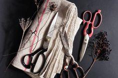 Vintage Metal Draper Scissors Kitchen Scissors Japanese