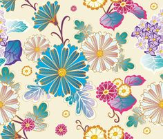 Floral patterns by Milena Gaytandzhieva #floral #flowers #pattern