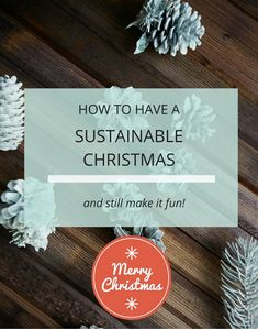 Tips to Have a More sustainable christmas - how to be more eco friendly and produce less waste this christmas with health and wellness blog Loulouzoo