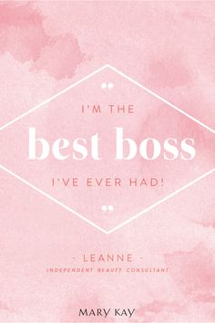 It's time to be the best boss you ever had. Celebrate the wins both big and small! | Mary Kay