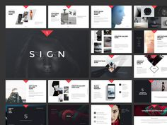 SIGN Keynote Presentation ~ Presentation Templates on Creative Market