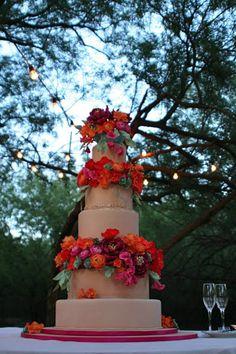 For the Love of Cake! by Garry & Ana Parzych: Destination Wedding Cake, from New York City, to Arizona