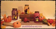 Vind je Halloween ook zo leuk? Hier zijn 17 zelfmaak ideetjes met glazen potten voor Halloween!