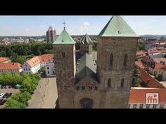 Osnabrück von oben. Video von FFN
