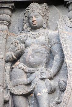 阿旃陀石窟群Ajanta Caves的佛像