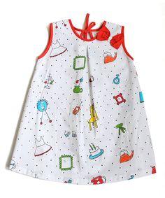 Loving this White Decor Shift Dress - Infant, Toddler & Girls on #zulily! #zulilyfinds