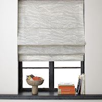 Roman shades from mini-blinds. No see and under $5!