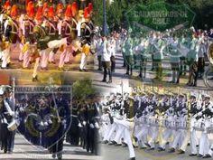 """Marcha militar chileno - """"Adiós al Quinto de Línea"""" / Chilean military march - """"Farewell to the Fifth of Line"""""""