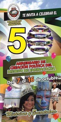 Aniversario del distrito de Yarinacocha - Ucayali