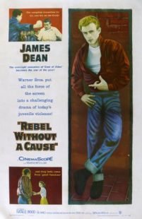 Rebel Without a Cause -  A rebellious young man with a troubled past comes to a new town finding friends and enemies.  Genre: Drama Actors: James Dean Jim Backus Natalie Wood Sal Mineo Year: 1955 Runtime: 111 min IMDB Rating: 7.8 Director: Nicholas Ray  Watch Rebel Without a Cause online free - source: www.InsideHollywoodFilms.com