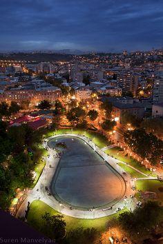 Yerevan, Armenia - gems in the night on Behance