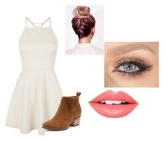 """""""What to wear at a wedding"""" by air-bear-disigns on Polyvore featuring Topshop and Fiebiger"""