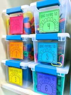 "Build play and exploration into your day with Morning Tubs! I love this paperless morning ""work"" alternative is a perfect way to build social skills and get students excited about the day!"