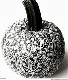 Zentangle Pumpkin Patterns
