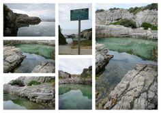 Ficks Pool - Westcliff Hermanus To get there drive along Marine Drive towards the New Harbour - you will see the sign on the road. Our Town, Places To Eat, Beaches, Things To Do, Photo Editing, Sign, Activities, Travel, Things To Make