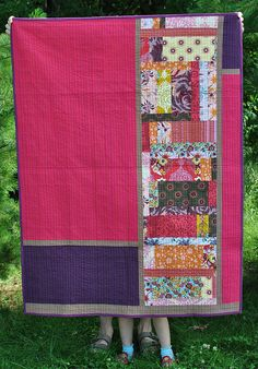 Sparkle Quilt - back by thegirlwhoquilts, via Flickr