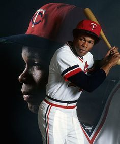 A multiple exposure portrait of Minnesota Twins Rod Carew during a photo shoot on June 1977 at Metropolitan Stadium in Bloomington, Minn. Carew was named an All-Star for all but his last of 19 seasons in the majors. The AL's 1967 Rookie of the. Baseball Socks, Baseball Tees, Baseball Players, Mlb Twins, Minnesota Twins Baseball, Metropolitan Stadium, Old Baseball Cards, Corvette Summer, Nationals Baseball