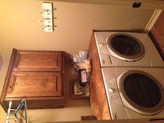 Laundry room Pinterest inspired complete!