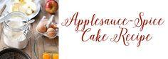 Amore Beaute: Applesauce-Spice Cake