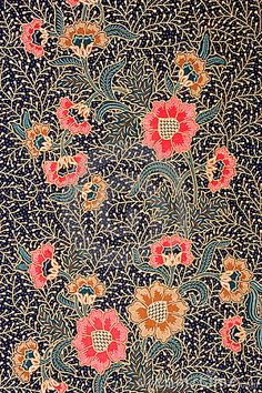 Indonesian Batik - perfect to cover a small wall in the house...