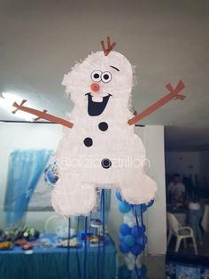 Piñata de olaf #olaf #piñata #frozzen
