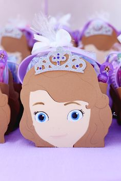 Sofia the First Party Ideas- image only, no instructions or links.