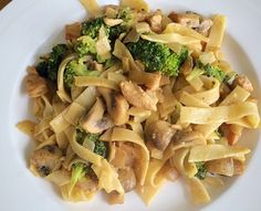 ❤️ Pasta met broccoli, kip & mosterd roomsaus