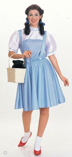 Cool Costumes Wizard Of Oz Dorothy Costume just added...